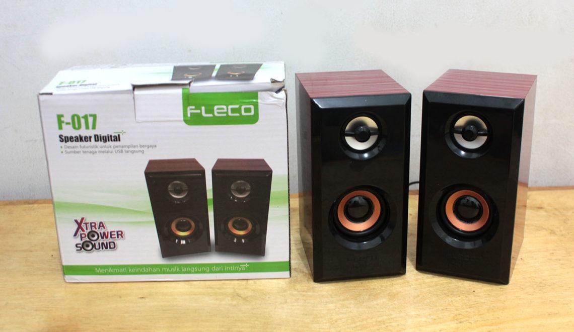 Fleco F-107, Speaker 'Kayu' Terjangkau untuk Pendamping Laptopmu