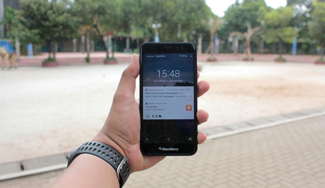 Blackberry Aurora, Smartphone Terjangkau & Ideal untuk Admin Olshop