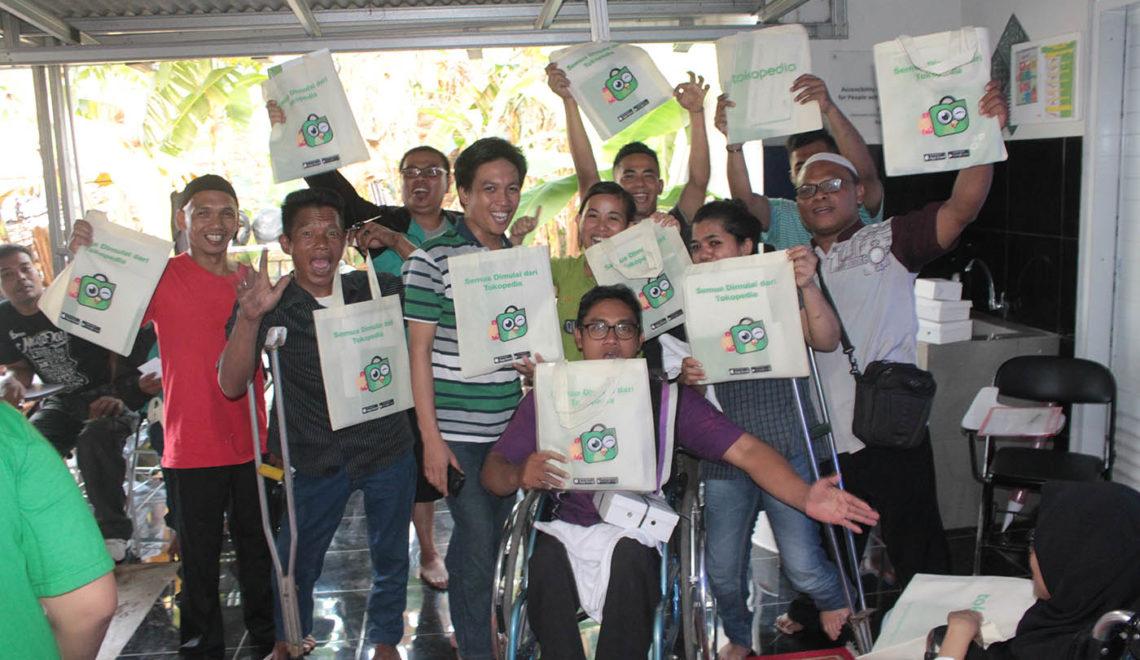 Berbagi Ilmu Jualan Online Bersama Kelompok Usaha Penyandang Disabilitas