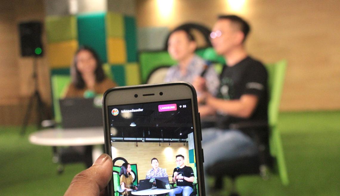 Ngikutin Tokopedia Live Class Langsung dari Tokopedia Tower.