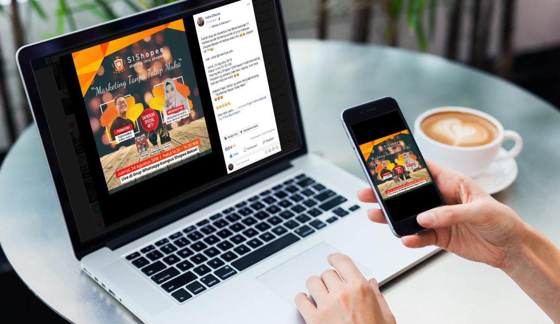 Rekap Materi SIShopee : Marketing Tanpa Tatap Muka.