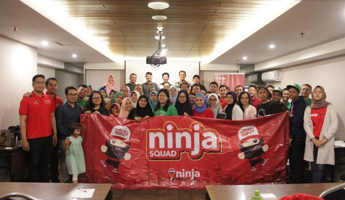 Perdana Nobar Lagi Bareng Topcommunity & Ninja Xpress