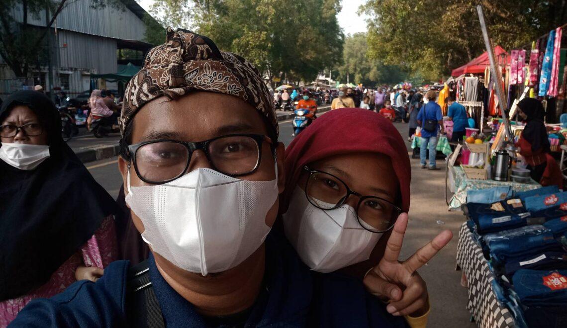 Menikmati Kembali Pasar Rakyat yang Tumpah Ruah di Leuwinanggung, Depok.